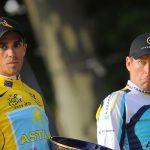 Avis: Lance Armstrong sur le Tour de France a craché avec Contador: le meilleur homme a gagné