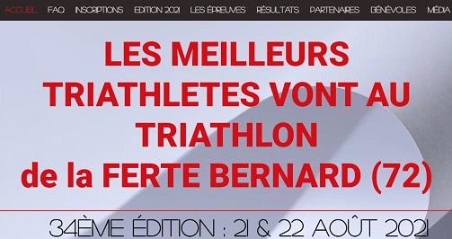 News Triathlon la ferte bernard 2021